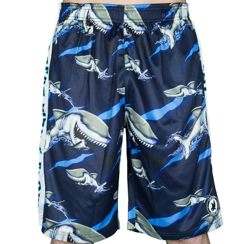 Flow Society Great White Youth Shorts - Legit Lacrosse, Inc.