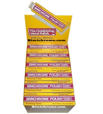 Simichrome polish in 24 tube display box Item # SC24