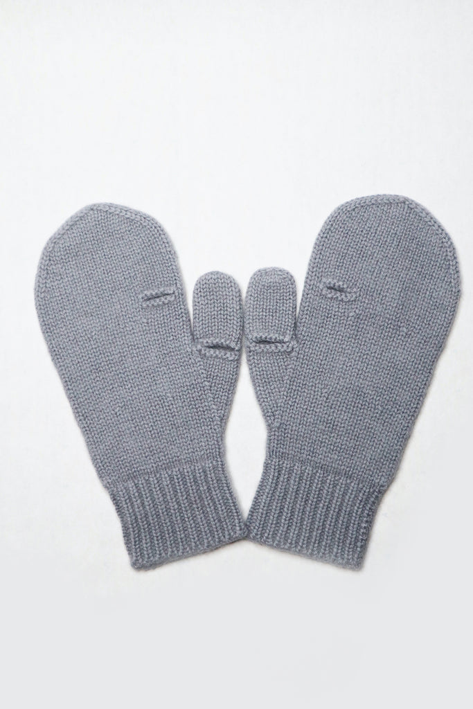 Cashmere Gloves. Mist grey