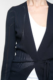 Asymmetric Wrap cardigan