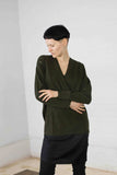 The  Y- 2 in 1 merino sweater
