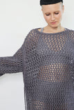 The super-sized assembled sweater