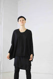 Merino classic cocoon Sweater - Charcoal - SOLD OUT
