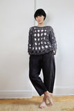 Pre-Order. Open cable hand knit sweater