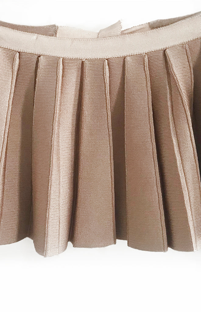 Pleated peplum belt - SOLD OUT