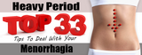 Heavy Period: Top 33 Tips To Deal With Your Menorrhagia