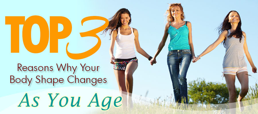 5b3d5d970c00e Top 3 Reasons Why Your Body Shape Changes As You Age by Teya Janelle Posted  on January 31