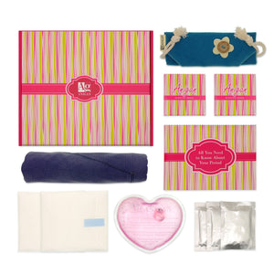 Anigan First Period Kit with Stylish Blue Hipster Menstrual Underwear - Anigan   - 1