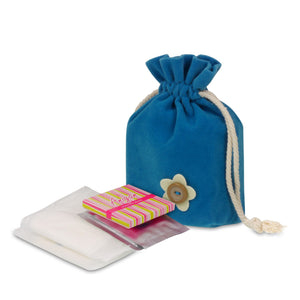 Anigan First Period Kit with Stylish Blue Hipster Menstrual Underwear - Anigan   - 5