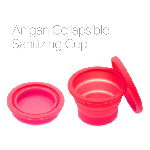 Anigan EvaCup  + Collapsible Sanitizing Cup
