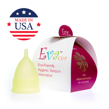 Load image into Gallery viewer, Eva Menstrual Cup Chartreuse