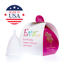 Load image into Gallery viewer, Eva Menstrual Cup Moonstone
