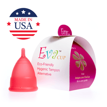 Load image into Gallery viewer, Eva Menstrual Cup Rose Pink