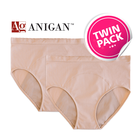 Anigan StainFree Period Panty - High-Rise Seamless Brief - Anigan   - 4