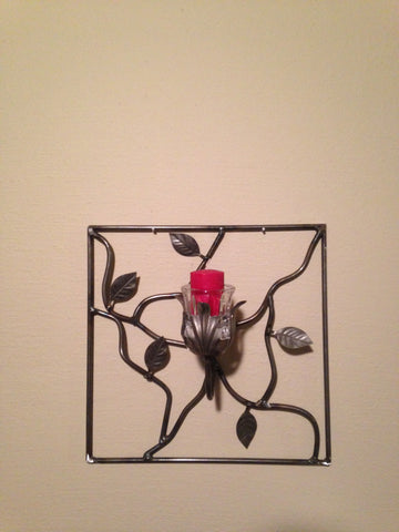 Single Wire Candle Sconce