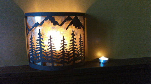 Candle Cover Sconce