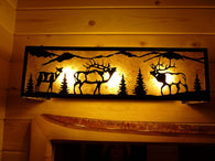 Elk Vanity Light