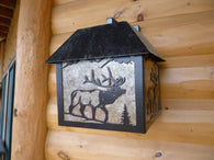 Outdoor Box Sconce Light