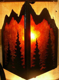 Triangle Sconce Light