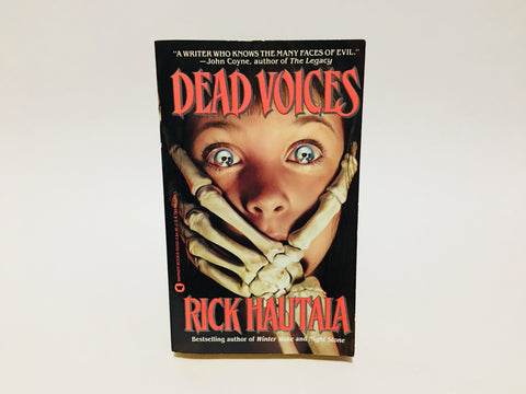 Dead Voices by Rick Hautala 1990 First Edition Paperback