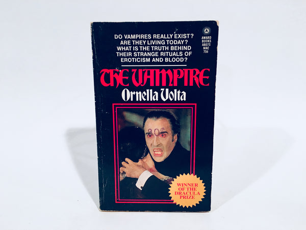 The Vampire by Ornella Volta 1972 Paperback
