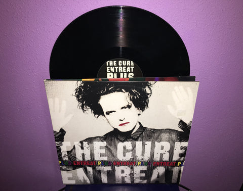 The Cure - Entreat Plus Double Vinyl  LP 2010 Live Album Robert Smith