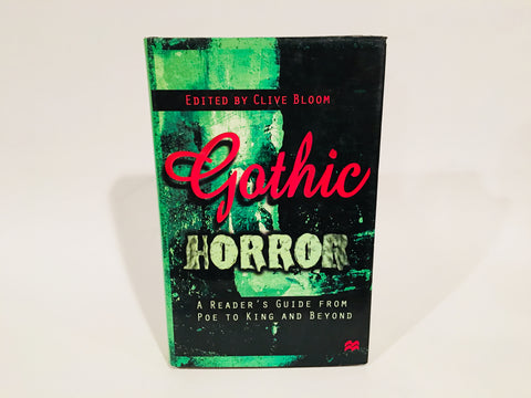 Gothic Horror Edited by Clive Bloom 1998 Hardcover