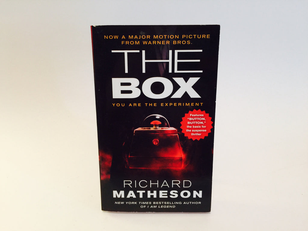 The Box: Uncanny Stories by Richard Matheson 2009 Movie Tie-In Edition Paperback Anthology - LaCreeperie