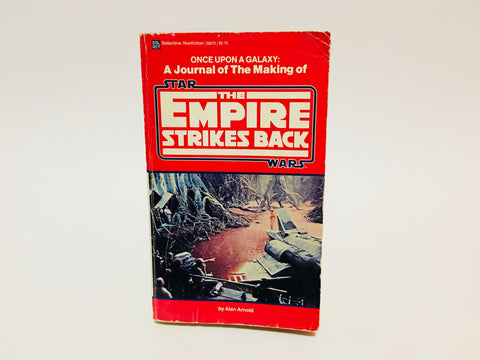 A Journal of the Making of The Empire Strikes Back by Alan Arnold 1980 Paperback