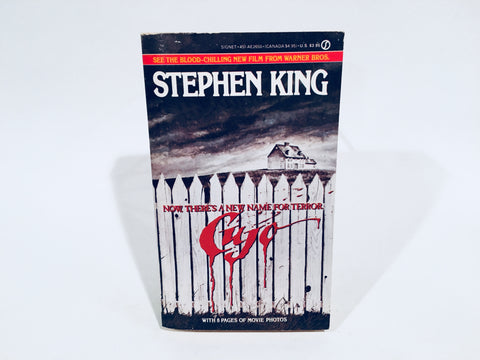 Cujo by Stephen King 1983 Movie Tie-In Edition Paperback