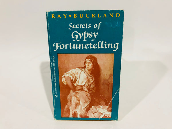 Secrets of Gypsy Fortunetelling by Ray Buckland 1992 Paperback