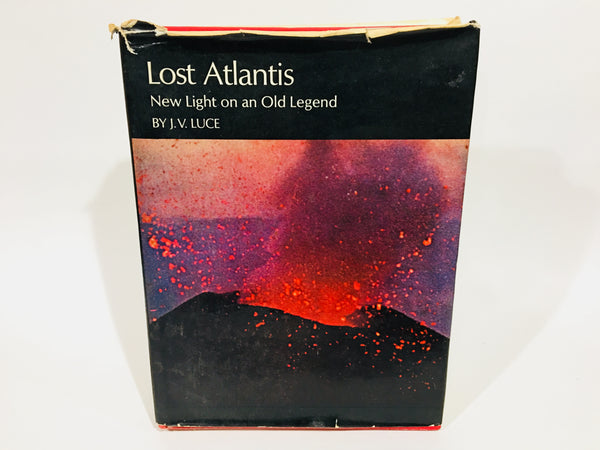 Lost Atlantis: New Light on an Old Legend by J.V. Luce 1969 Hardcover