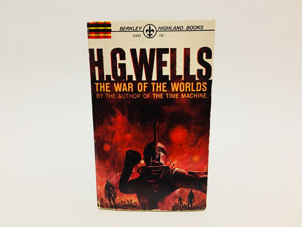 The War of the Worlds by H. G. Wells 1964 Paperback