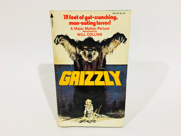 RESERVED Grizzly Film Novelization 1976 Paperback