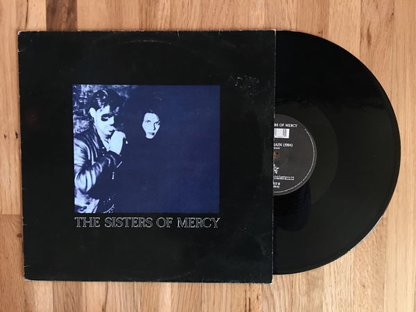 "The Sisters of Mercy - Lucretia My Reflection / Long Train Vinyl 12"" EP/LP 1988"