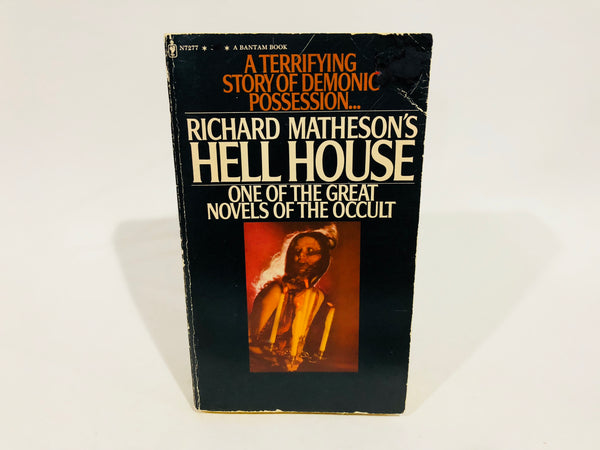 Hell House by Richard Matheson 1973 Movie Tie-In Edition Softcover