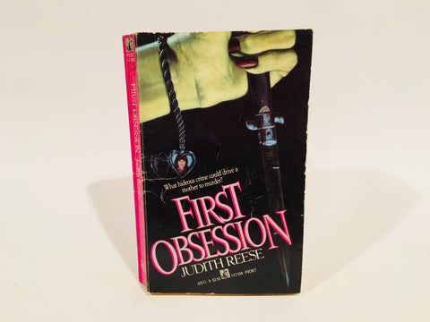 First Obsession by Judith Reese 1987 First Edition Paperback
