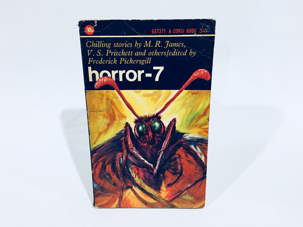 Horror-7 1965 UK Edition Paperback Anthology