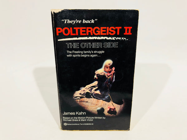 Poltergeist II: The Other Side Film Novelization 1986 Paperback