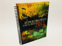 Stephen King Library 2013 Desk Calendar Spiralbound Hardcover