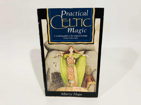Practical Celtic Magic by Murry Hope 1987 UK Edition Softcover