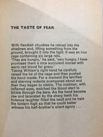 The Taste of Fear 1977 UK Edition Paperback Anthology