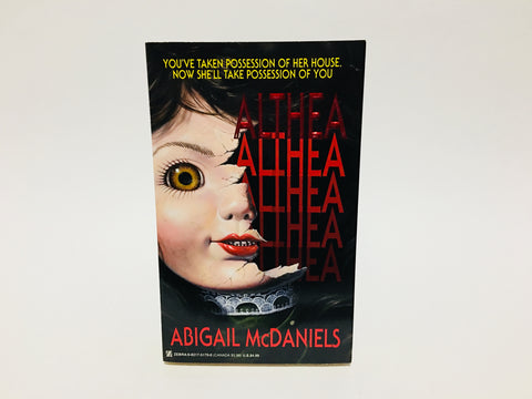 Althea by Abigail McDaniels 1995 First Edition Paperback