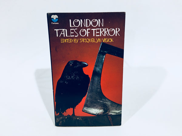 London Tales of Terror 1972 UK Edition Paperback Anthology