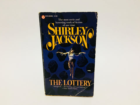 The Lottery by Shirley Jackson 1975 Paperback Anthology