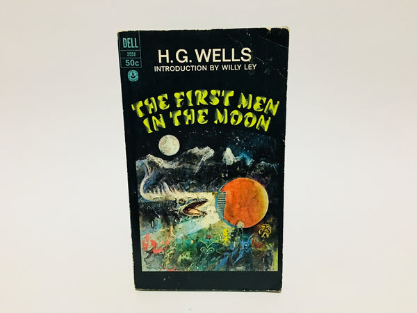 The First Men in the Moon by H. G. Wells 1967 Paperback