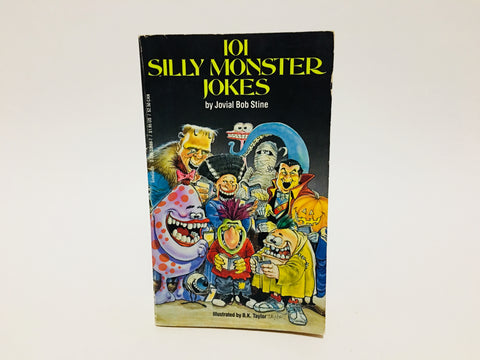 101 Silly Monster Jokes by Jovial Bob Stine 1986 Paperback