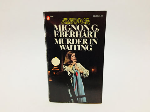 Murder in Waiting by Mignon G. Eberhart 1973 Paperback