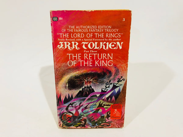 The Return of the King by J.R.R. Tolkien 1969 Edition Paperback