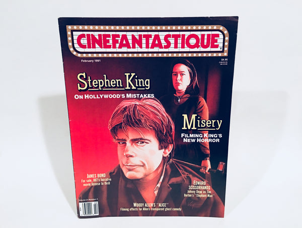Cinefantastique Magazine February 1991 Stephen King